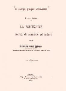 pubblicazione giuridica Leone