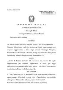 CDS.AP Sentenza 16_2020